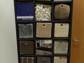 New Jacaranda Carpets Display Stand