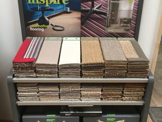 Alternative Flooring Display Stand
