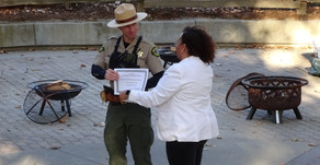 Getting a peek into the life of a park ranger