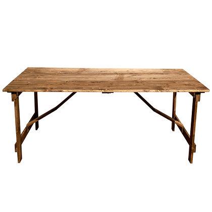 Wood Farm Folding Table - FAFT-F7 (183*91cm)
