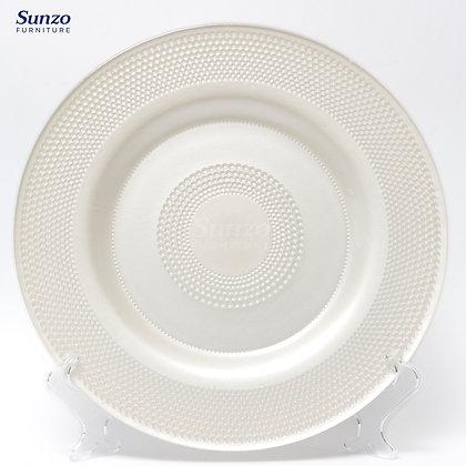 Pearl Glass Plate SZ-3009