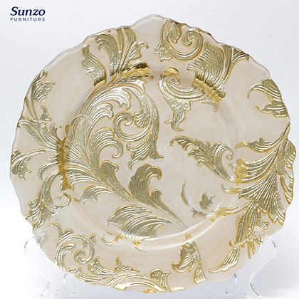 Glass Charger Plate SZ-3006