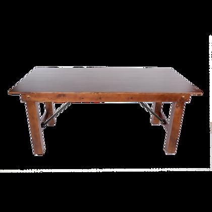 Wood Farm Folding Table- FAFT-F1(Length:300cm)