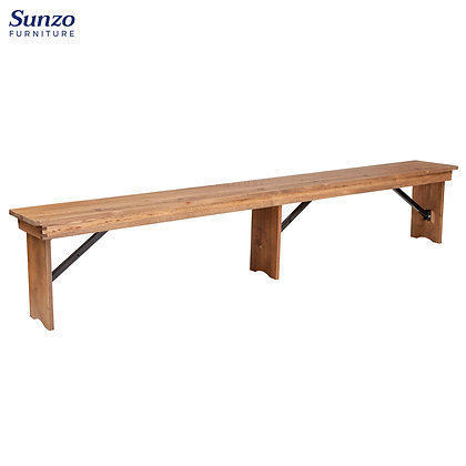 Wood Farm Bench - FAFT-S1(274*30*46cm)