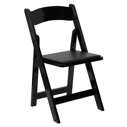 Black Wooden Folding Wedding Chair (SZ-6503)