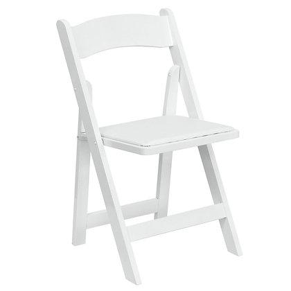 White Wooden Folding Wedding Chair (SZ-6503)