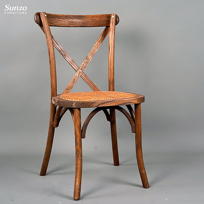 Cross Back Chair -S Style(WSXAK18+RT07)