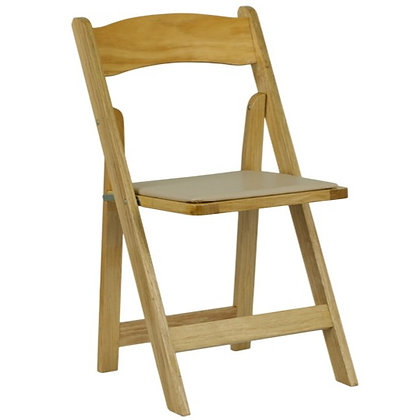 Natural Wooden Folding Wedding Chair (SZ-6503)