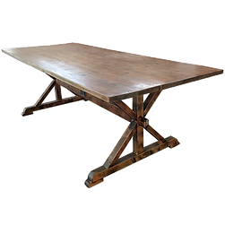 Wood Farm Table - FAFT-W1 (274*120cm)