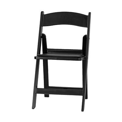 Black Resin Folding Wedding Chair (SZ-8501)