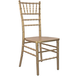 Chiavari chair - Gold color