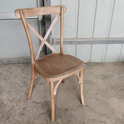 Cross Back Chair -S Style(WSXAK01)