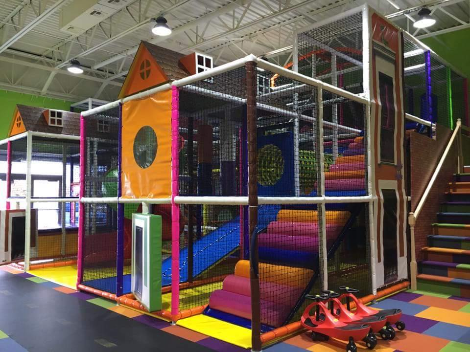 Ticklez Play Structure