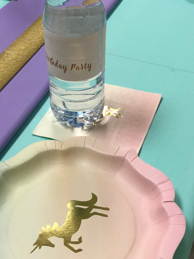 Personalized party Items