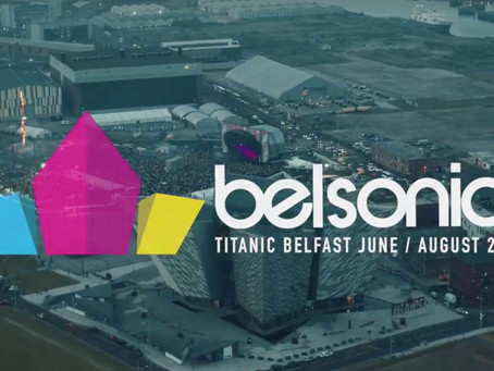 Capturing aerial drone footage for Belsonic 2016
