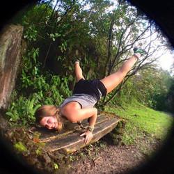Yoga in Fortuna, Costa Rica