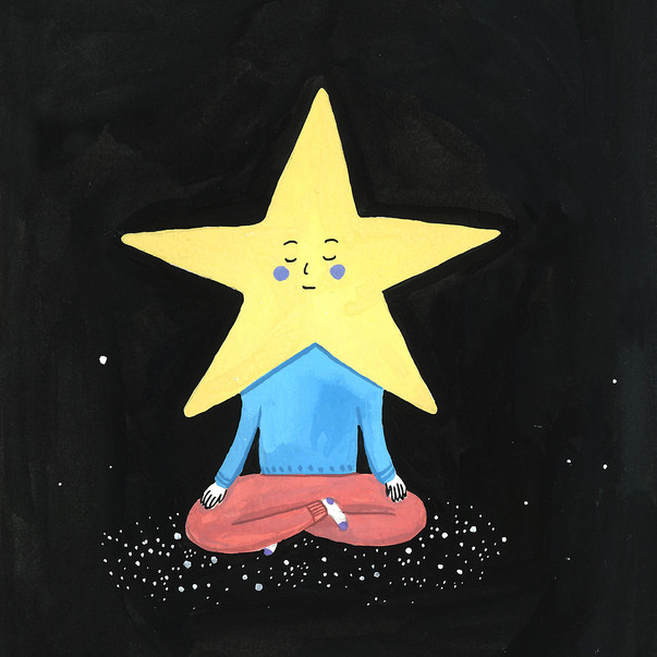 Yoga with star >>