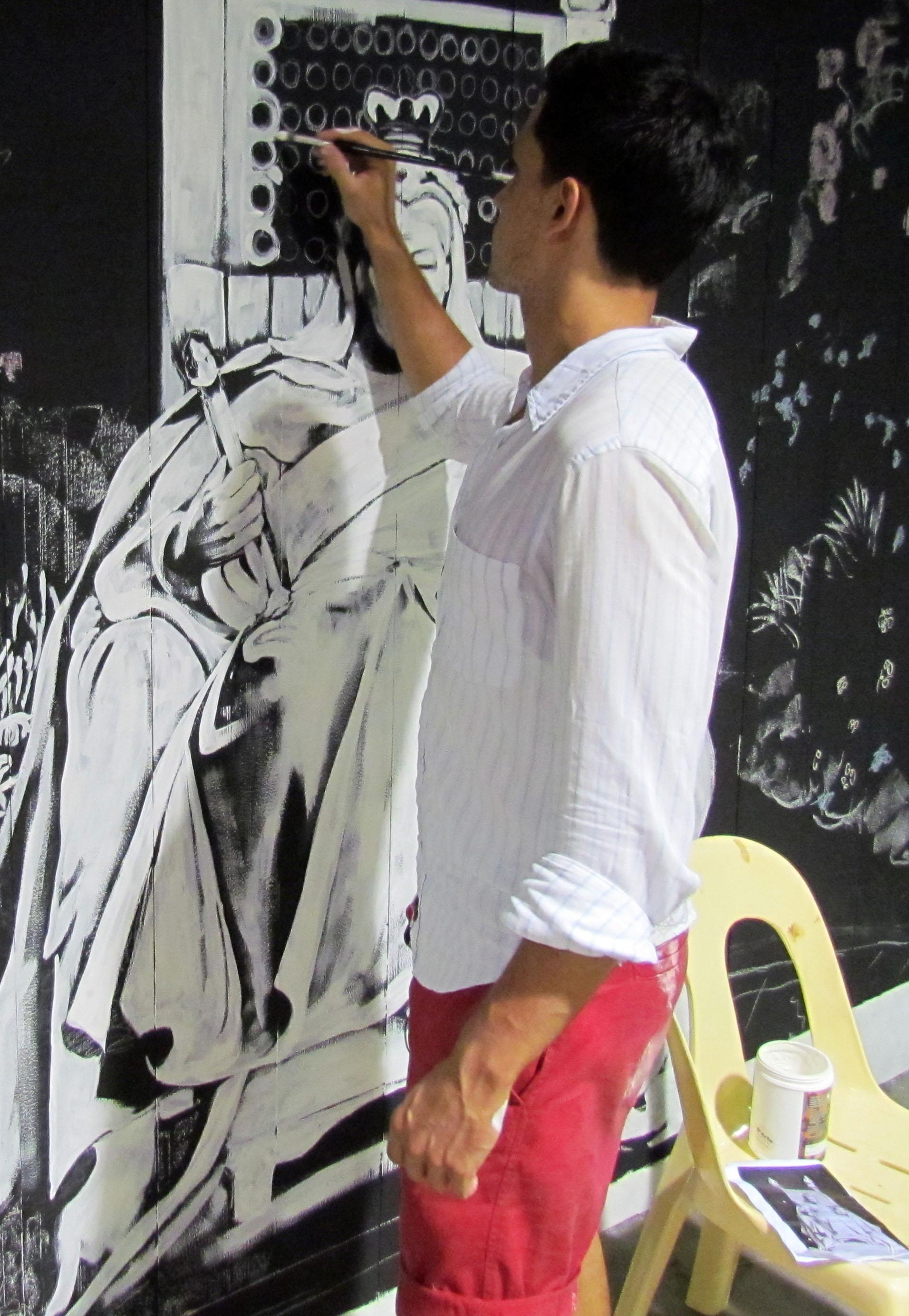 Queen Vic Mural