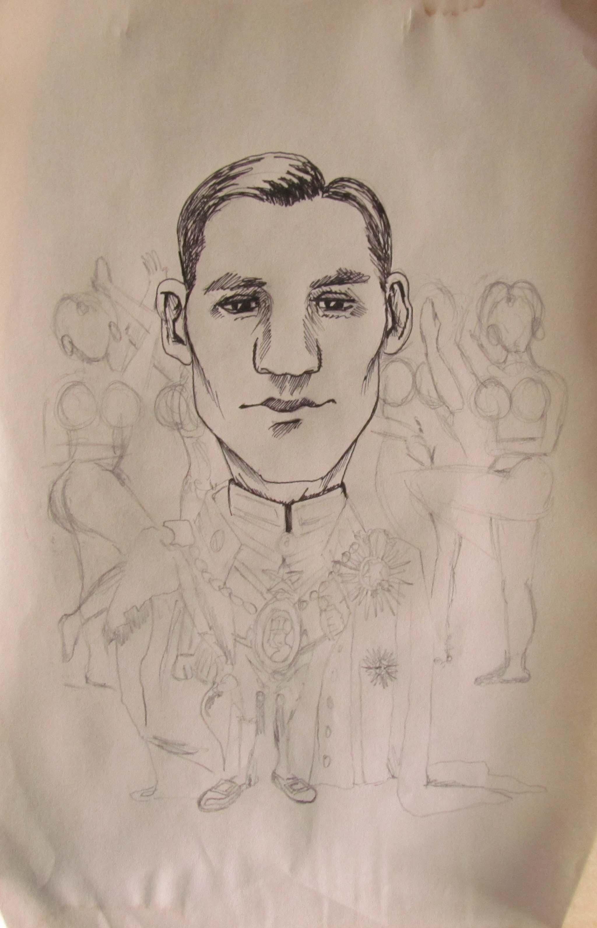 Character Cartoon Sketch