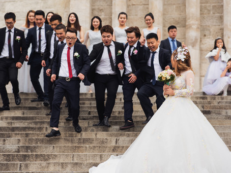 Mei & Jun - wedding in Budapest