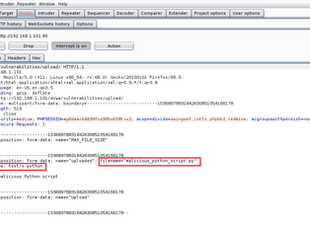 Web App Hacking: BurpSuite, Part 2: Bypass Weak Input Validation to Upload Malware to a Website