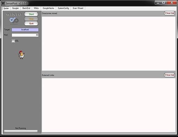 Using Wikto to Find Website Vulnerabilities