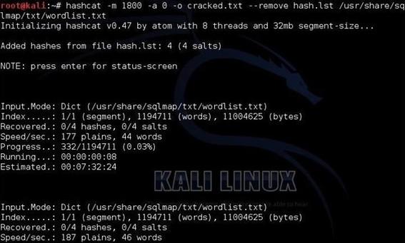 Cracking Passwords with hashcat