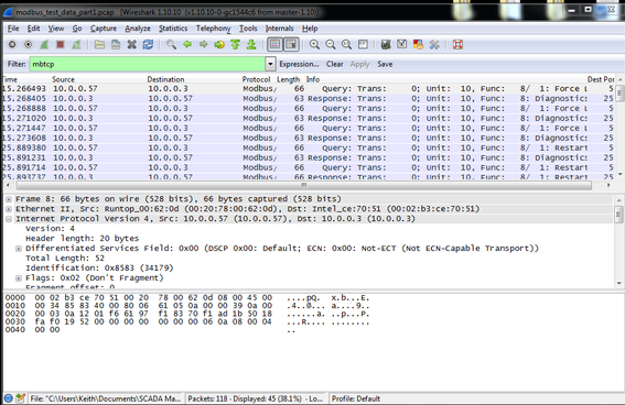 Network Forensics, Part 2: Detecting and Analyzing a SCADA DoS Attack