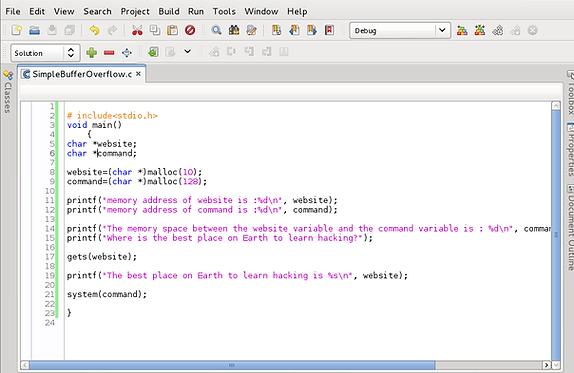 Exploit Development, Part 2: Writing a Simple Buffer Overflow