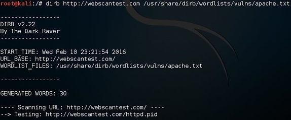 Web App Hacking, Part 4: Using Dirb to Find Hidden Directories