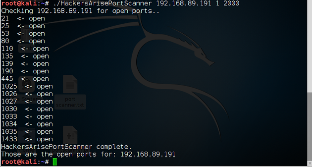 Scripting for Hackers, Perl 2: Building a Port Scanner with Perl