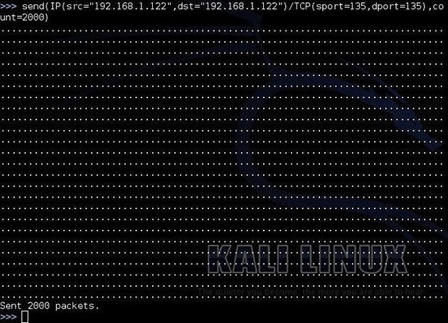 Reconnaissance: Scanning and DoSing with Scapy