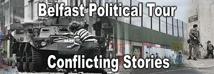Belfast Political Tour-Conflicting Stories