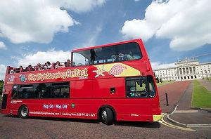 Belfast hop on hop off bus