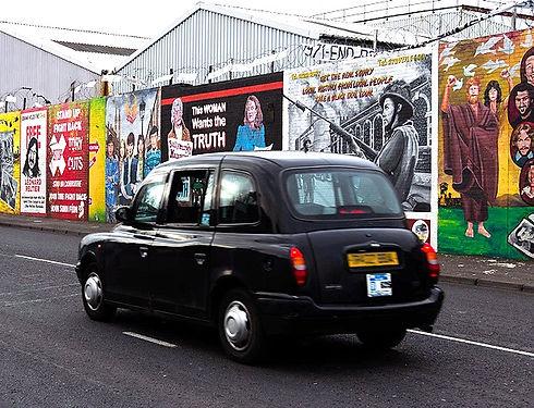 Belfast Taxis Tour, Belfast Murals Tour