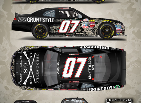 Grunt Style Expands Sponsorship of Spencer Boyd Into NASCAR Xfinity Series