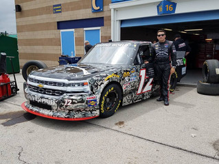 Spencer Boyd Earns Second Career Top 20 Finish in Kansas Speedway Debut