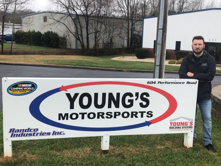 SPENCER BOYD JOINS YOUNG'S MOTORSPORTS