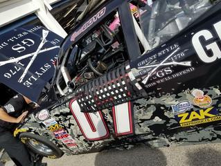 Compromised Engine Handcuffs Spencer Boyd's Return to Kansas Speedway