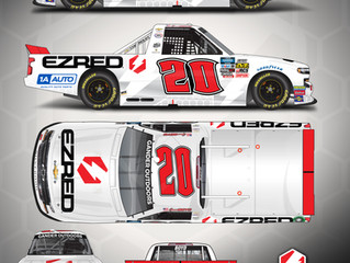 Spencer Boyd Announces Partnership with EZRED for Martinsville Speedway