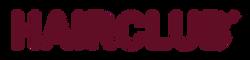 Hairclub Logo Maroon