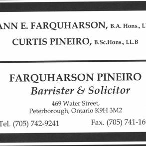 Farquharson Pineiro Barrister & Solicitor