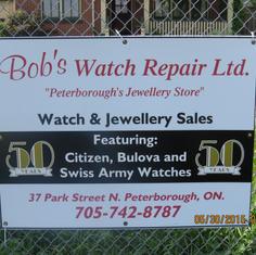 Bob's Watch Repair Ltd.