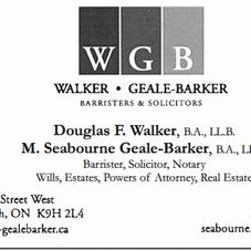 Walker, Geale-Barker Barristers & Solicitors