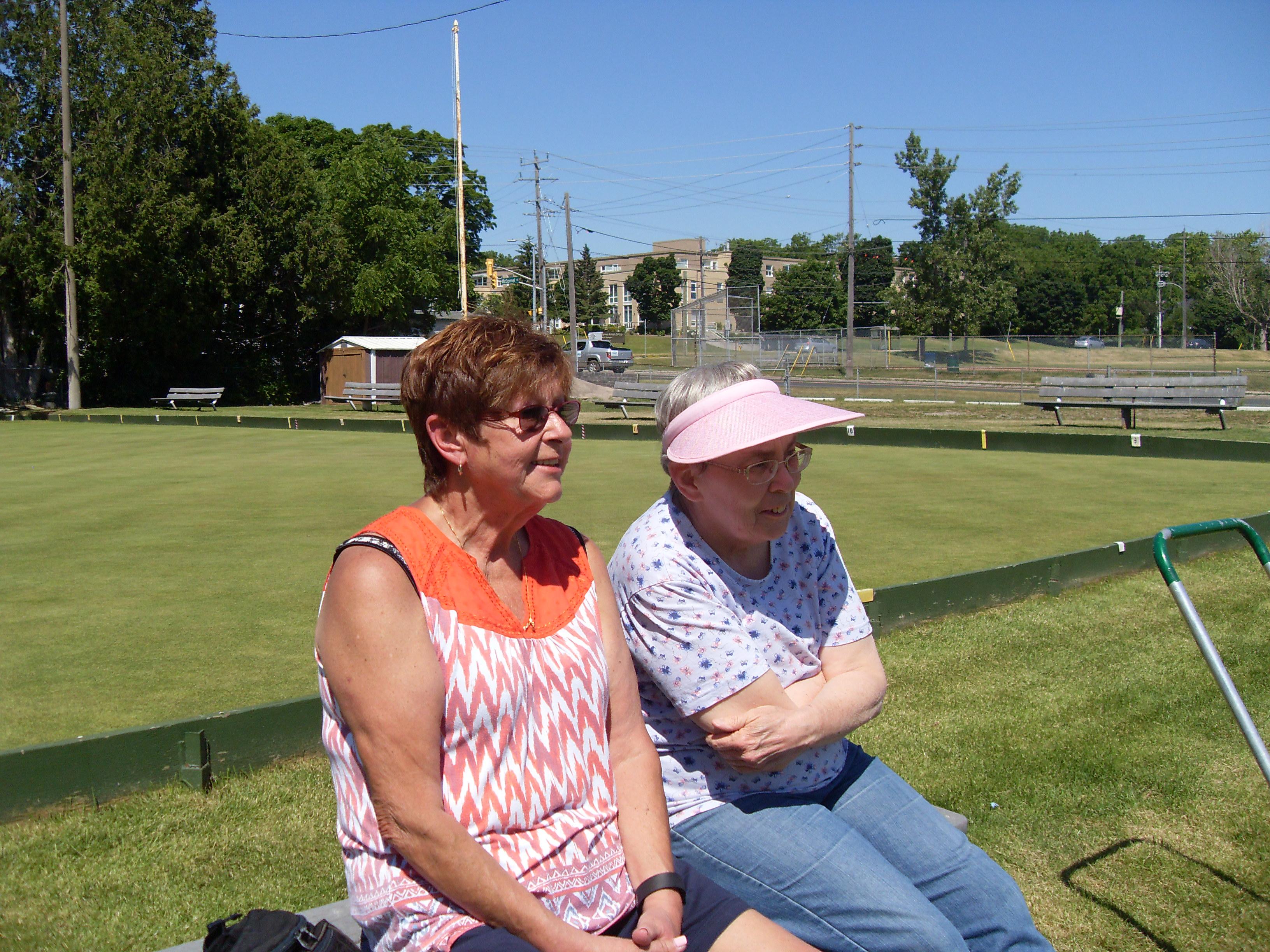 Linda & Charlene