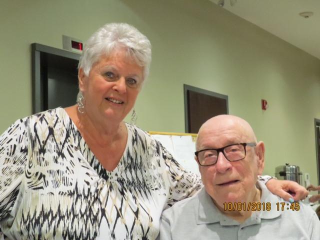 Deanna with Bob Burrows