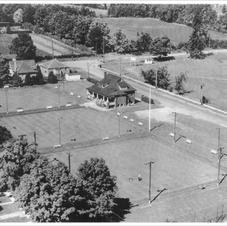 Aerial View of Club House 1950s
