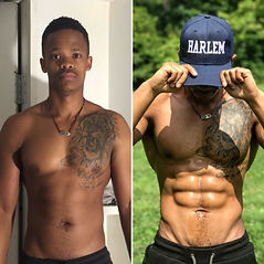 Khaya Msikinya's Before and After Photos