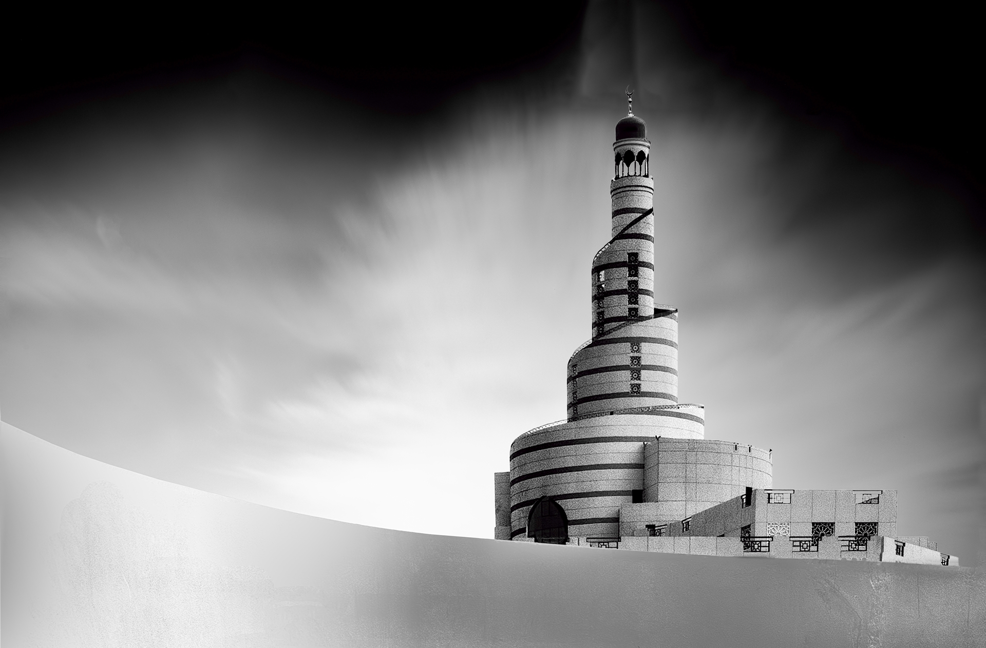 Mosque Doha Qatar