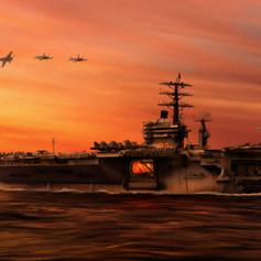 StratoArt_Carrier Ops at Duskl.jpg